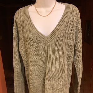 PINK V-Neck Sweater